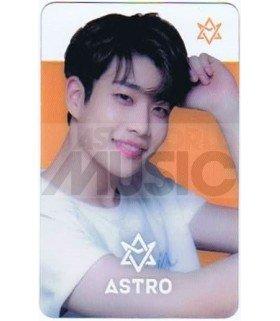 ASTRO - Carte transparente MJ (NAVER X DISPATCH PHOTOSHOOT)