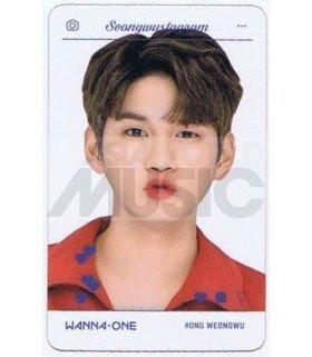 WANNA ONE - Carte transparente ONG SEONG WU (SEONGWUSTAGRAM)