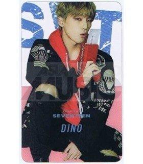 SEVENTEEN - Carte transparente DINO (TEEN, AGE)