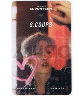SEVENTEEN - Carte transparente S.COUPS (TEEN, AGE)