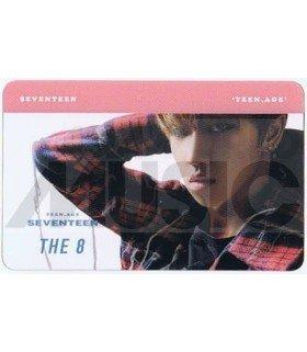SEVENTEEN - Carte transparente THE 8 (TEEN, AGE)