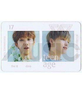 SEVENTEEN - Carte transparente THE 8 X DINO (TEEN, AGE / PERFORMANCE TEAM)