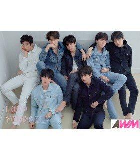 Affiche officielle BTS - LOVE YOURSELF -TEAR- (Version R)