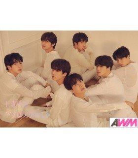 Affiche officielle BTS - LOVE YOURSELF -TEAR- (Version U)