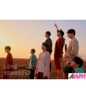 Affiche officielle BTS - LOVE YOURSELF -TEAR- (Version Y)