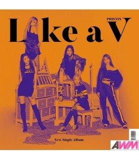 PRISTIN V (프리스틴 V) Single Album Vol. 1 - LIKE A V (édition coréenne)