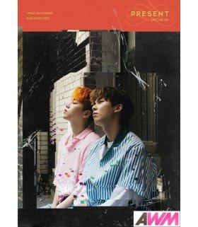 Woo Jin Young, Kim Hyun Soo (우진영, 김현수) Special EP - PRESENT (édition coréenne)