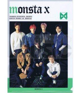 Monsta X - Porte-Document Double Cover 006