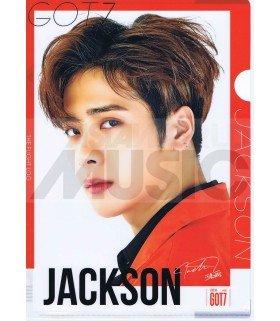 Jackson (GOT7) - Porte-Document Double Cover 002