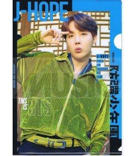 J-HOPE (BTS) - Porte-Document Double Cover 003
