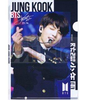Jungkook (BTS) - Porte-Document Double Cover 004
