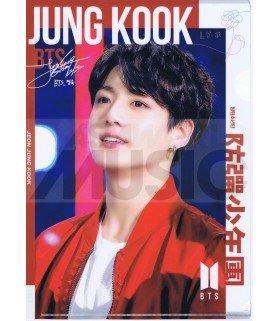 Jungkook (BTS) - Porte-Document Double Cover 006