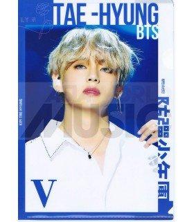 V (BTS) - Porte-Document Double Cover 030