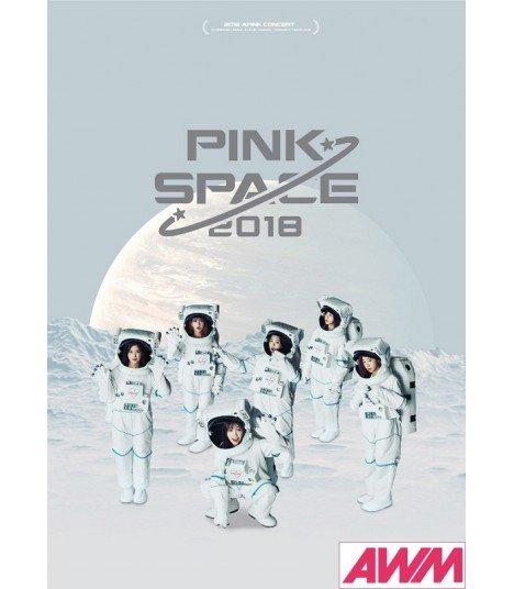 Apink (에이핑크) PINK SPACE 2018 Concert Book (PHOTOBOOK+DVD) (édition coréenne)