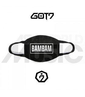 Masque GOT7 - BAMBAM'S LOGO (White)