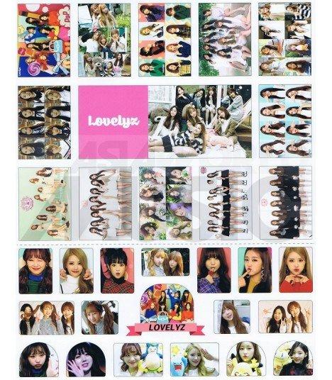 Lovelyz - Set de stickers 002