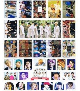 EXO - Set de stickers 012