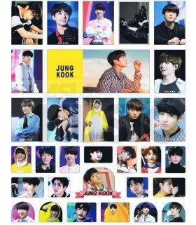 BTS - Set de stickers JUNGKOOK 018