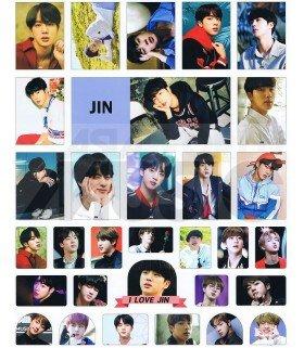 BTS - Set de stickers JIN 003
