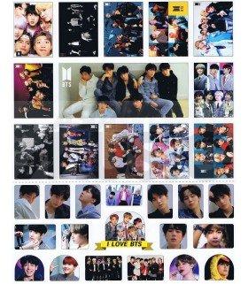 BTS - Set de stickers 016
