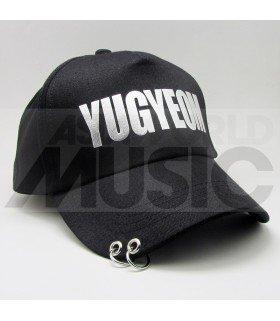 GOT7 - Casquette noire avec anneaux - YUGYEOM