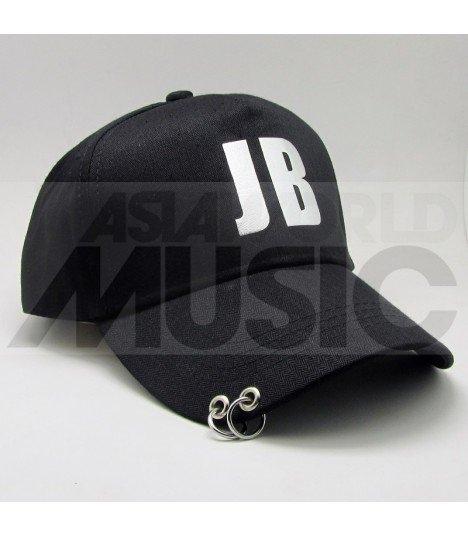 GOT7 - Casquette noire avec anneaux - JB