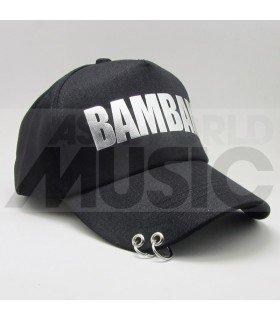 GOT7 - Casquette noire avec anneaux - BAMBAM
