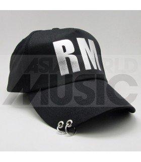 BTS - Casquette noire avec anneaux - RM