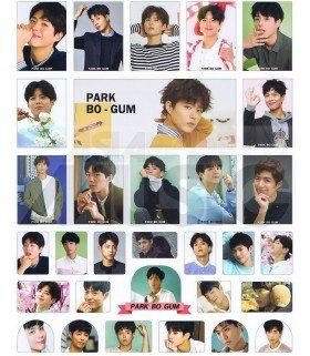 Sticker PARK BO GUM 003