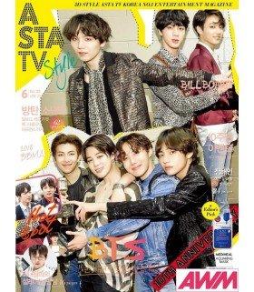 ASTA TV Style - Magazine sud-coréen (Vol. 120 / Juin 2018) (Import)