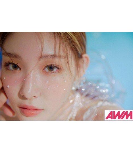 Chung Ha (청하) Mini Album Vol. 3 - Blooming Blue (édition coréenne)