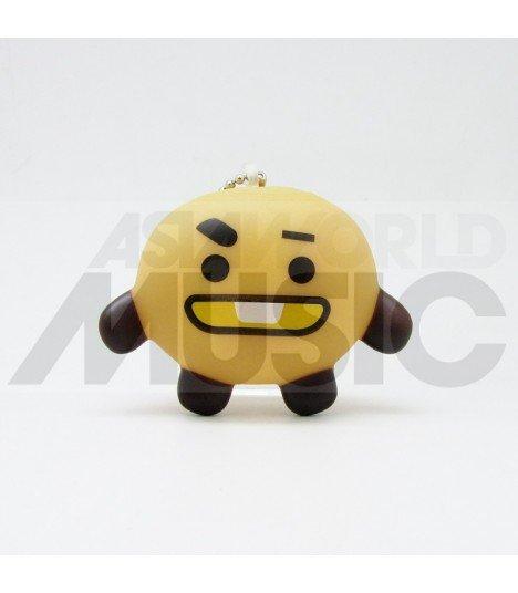 BTS - Porte-clé figurine BT21 - SHOOKY (SUGA)