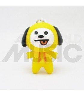 BTS - Porte-clé figurine BT21 - CHIMMY (JIMIN)