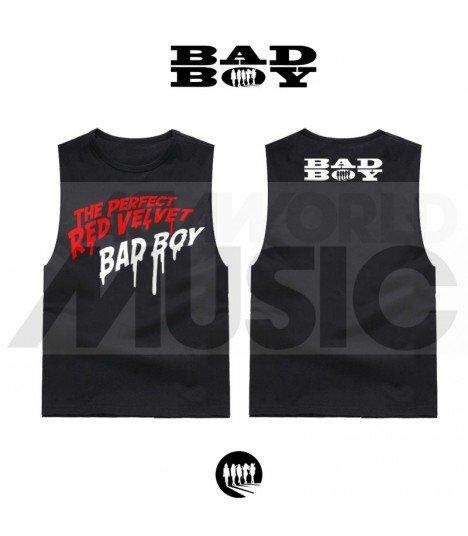 Red Velvet - Débardeur THE PERFECT RED VELVET 'BAD BOY' (Black)