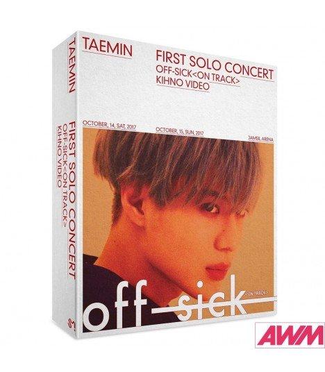 TAEMIN (태민) 1st Solo Concert OFF-SICK (Kihno Video) (édition coréenne)