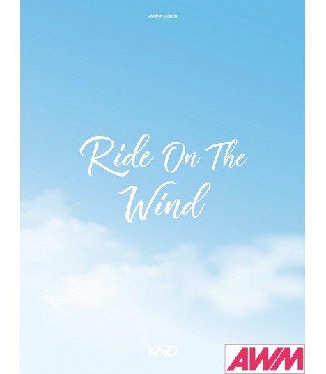 KARD (카드) Mini Album Vol. 3 - RIDE ON THE WIND (édition coréenne) (Poster offert*)