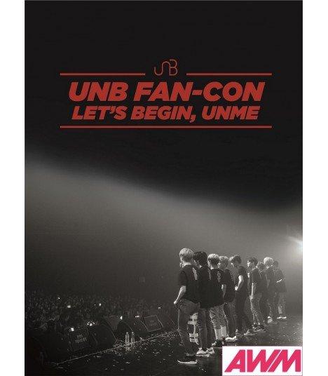 UNB (유앤비) 2018 UNB FAN-CON - LET'S BEGIN, UNME (2DVD + CD) (édition coréenne)