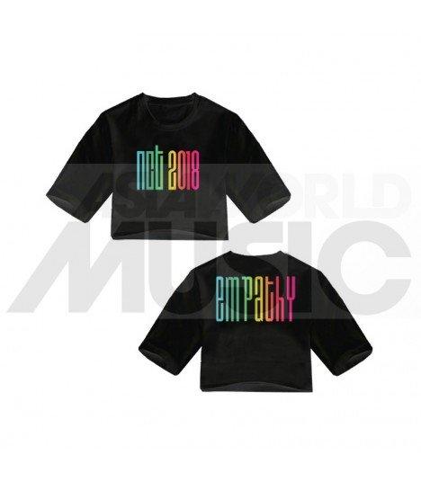 NCT - Crop top NCT2018 EMPATHY (Black) (FAREAST)