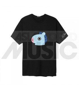 BTS - T-Shirt BT21- MANG (Black / Coupe unisexe)