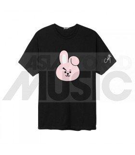 BTS - T-Shirt BT21- COOKY (Black / Coupe unisexe)