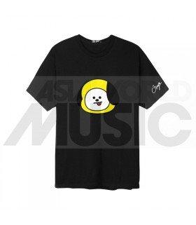 BTS - T-Shirt BT21- CHIMMY (Black / Coupe unisexe)