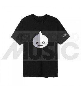 BTS - T-Shirt BT21- VAN (Black / Coupe unisexe)