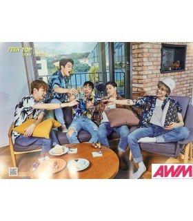 Affiche officielle TEEN TOP - TEEN TOP STORY: 8PISODE