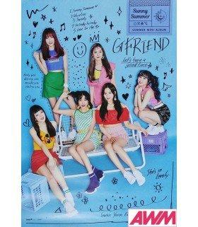 Affiche officielle GFRIEND - Sunny Summer (Poster SUMMER)