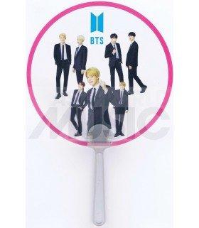 BTS - Éventail PVC - BTS Black Suit 01