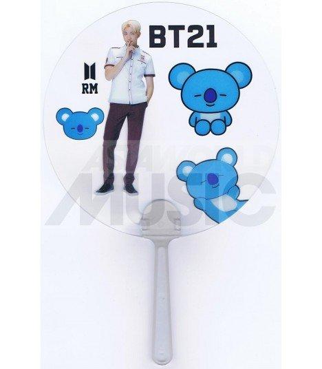 BTS - Éventail PVC - BT21 RM