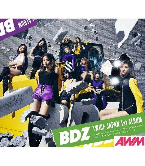 TWICE - Japan 1st Full Album - BDZ (Type A / ALBUM+DVD) (édition limitée japonaise)