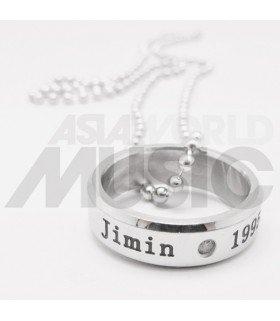 BTS - Collier Bague JIMIN 1995.10.13 (Double collier)
