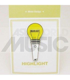 HIGHLIGHT - Pin's métal HIGHLIGHT Light Stick (Import Corée)