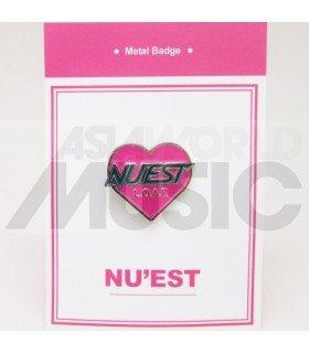 NU'EST - Pin's métal NU'EST Logo (Import Corée)